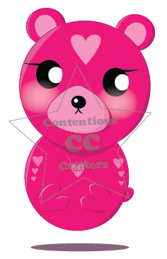 Courier Critter: Love Letter Bear by ContentiousCritters
