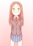 Monika with Takagi-san's hairstyle