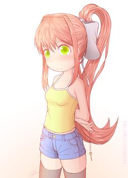 Monika in Casual Wear