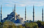 Blue Mosque by grafikerkartal