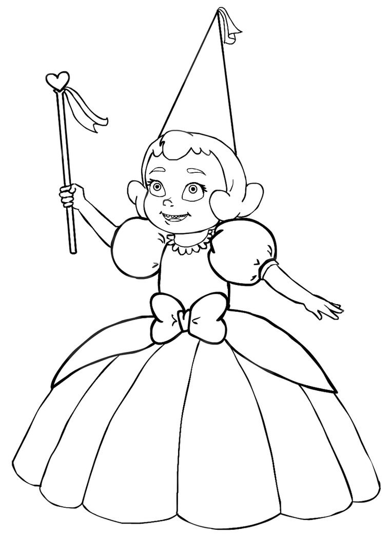 Baby Charlotte Lines By Elizabethbluecatfish On Deviantart The Princess And The Frog Book Free Coloring Sheets