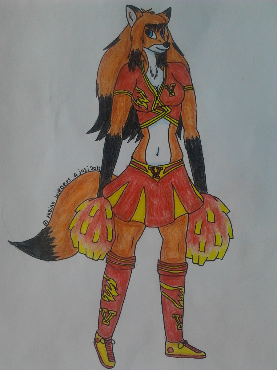 Vixen Cheerleader Kylie By Fixala On DeviantArt