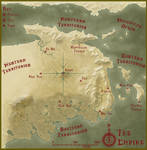 Warriors and Wuxia Sepia Map