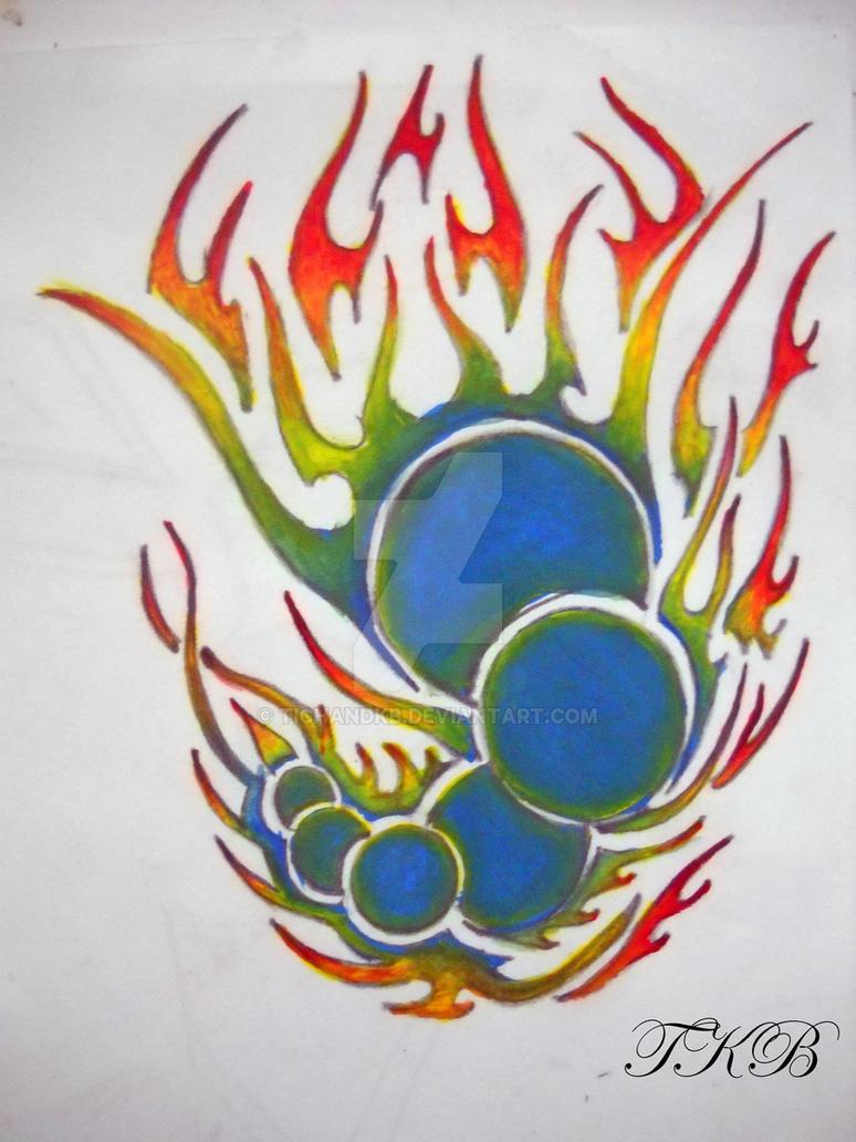 Tribal art by TichandKB