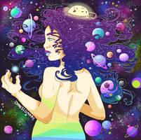 Space Lady by Omnilunary
