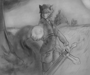 Luna Hikari [OC] Aura Sphere | Crimson Ignitis