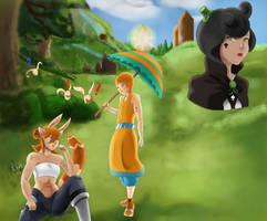 Zouma | Usagi and Coel