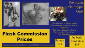 Flash Commission Sheet (Read Description Pls)