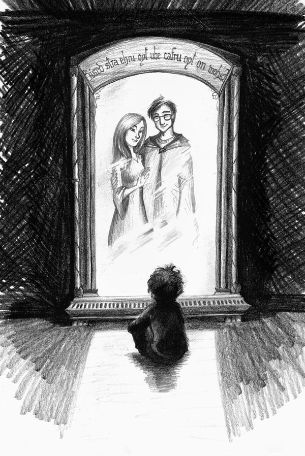 The mirror  of Erised by Zaerteltier