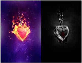 Within My Heart by AManWithPhotoshop