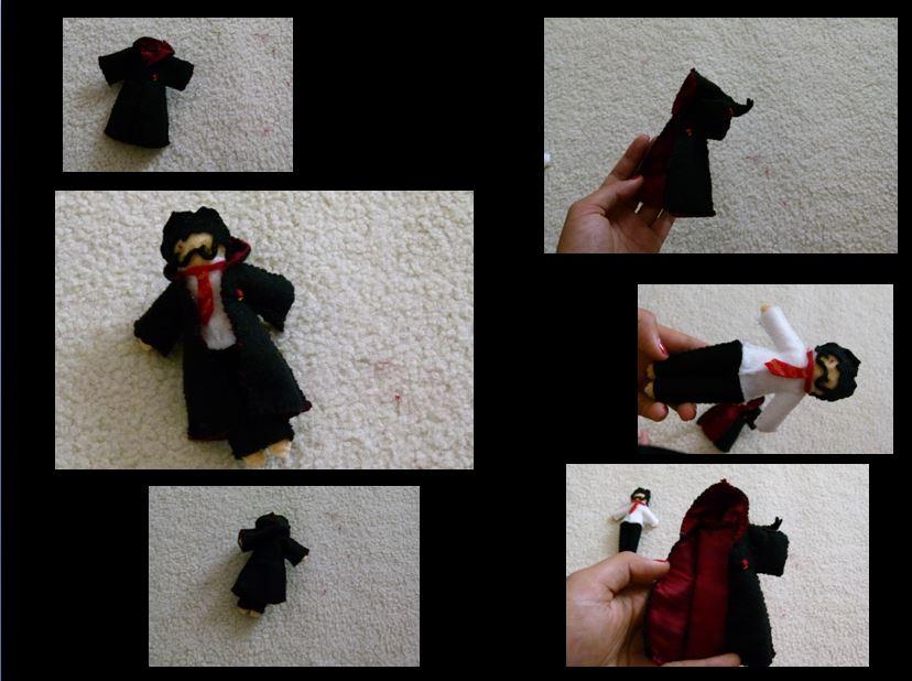 Plush!Harry Potter by FairyBubblePuppy