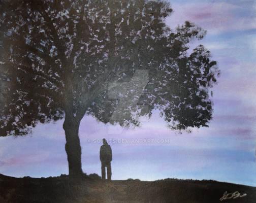 Violet Dream Silhouette