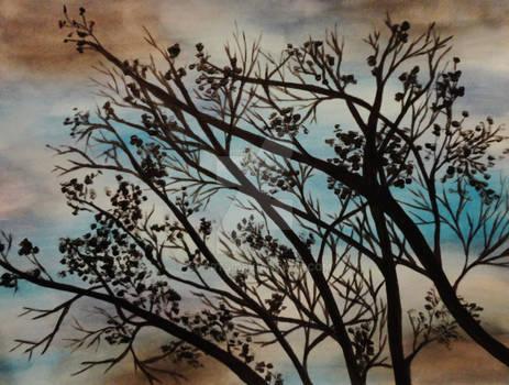 L'arbre seule de Kaitlin
