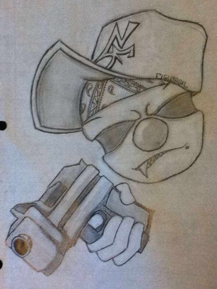 Gangsta clown by joker8851 on DeviantArt