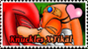 Knuckles X Tikal Stamp by Xelo-TH