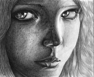 A girl by FuujinCZ