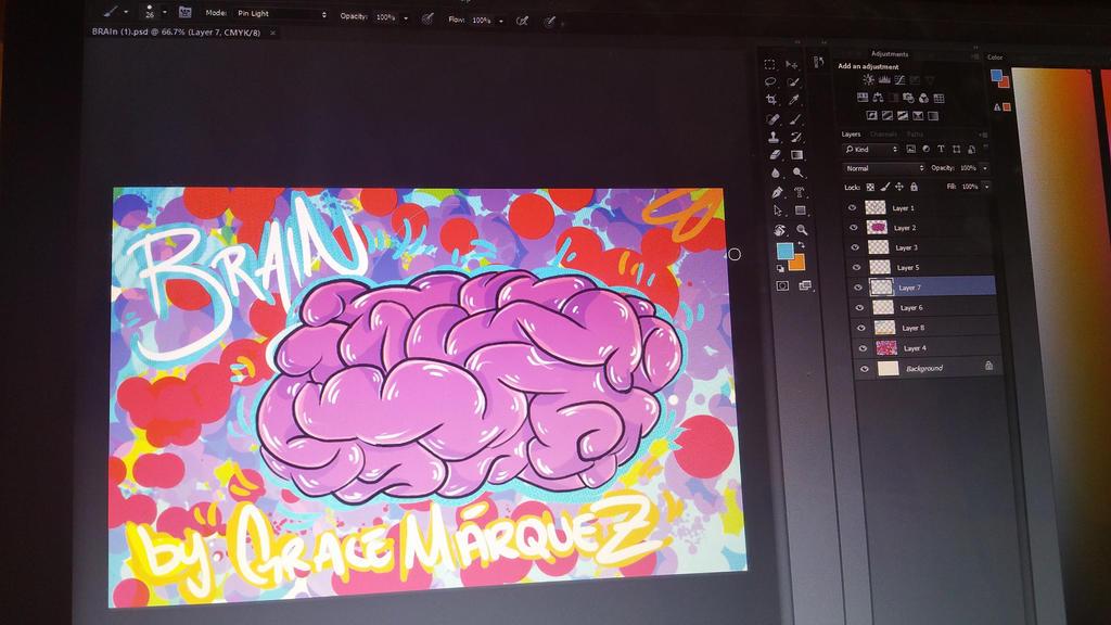 I drew a brain... by GraceMarquez