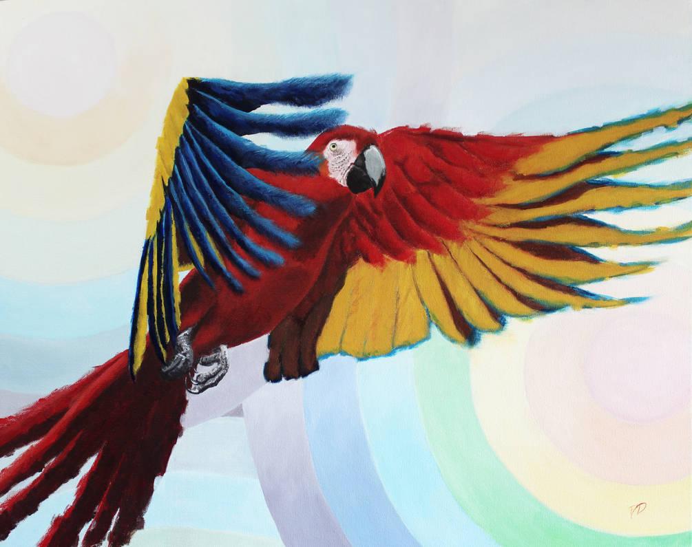 Cumbrian Macaw by BigAlien