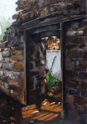 New Light Through A Long-Ruined Door by BigAlien