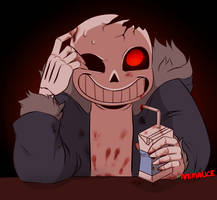 Horrortale Sans by Animalice