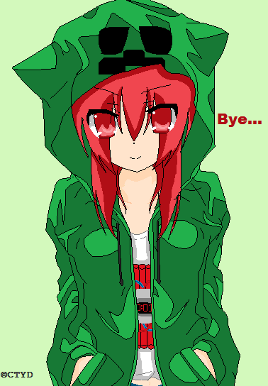 Creeper girl by hatsunejackie on deviantart - Anime creeper girl ...
