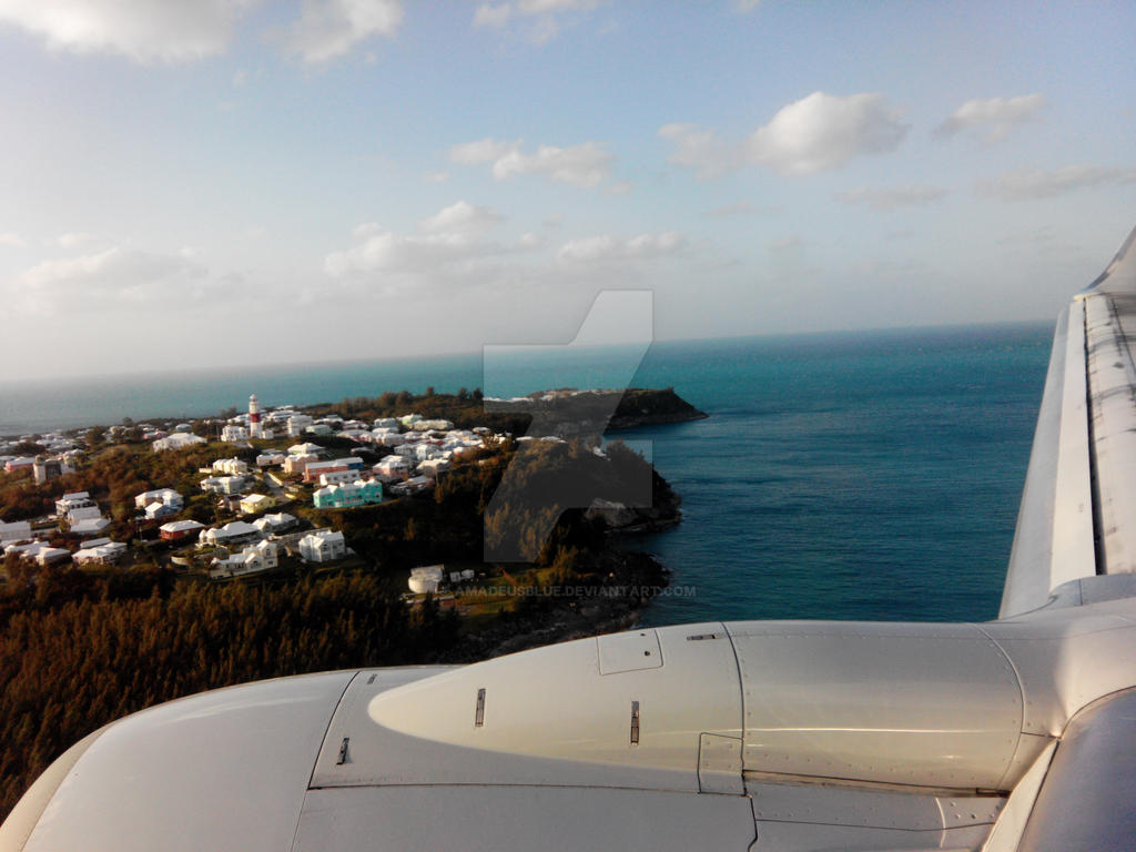 Arriving on de Island by Amadeusblue
