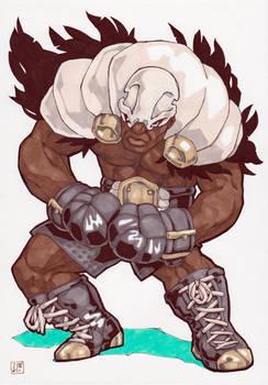 Boxer vulture