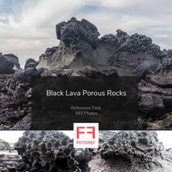 183 photos of Black Lava Porous Rocks by Fotoref