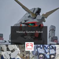 125 photos of Massive Gundam Robot