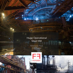 328 photos of Huge Operational Steel Mill
