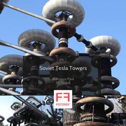 55 photos of Soviet Tesla Towers