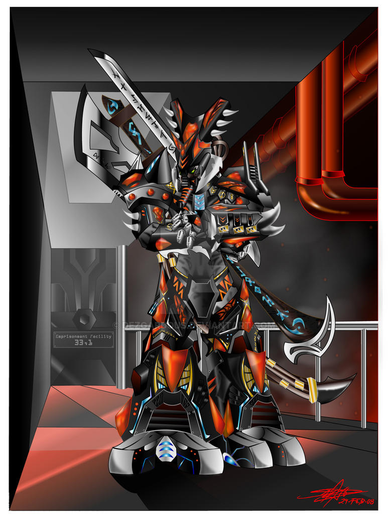 The Axe of a Darkest Hunter by Dezgardous