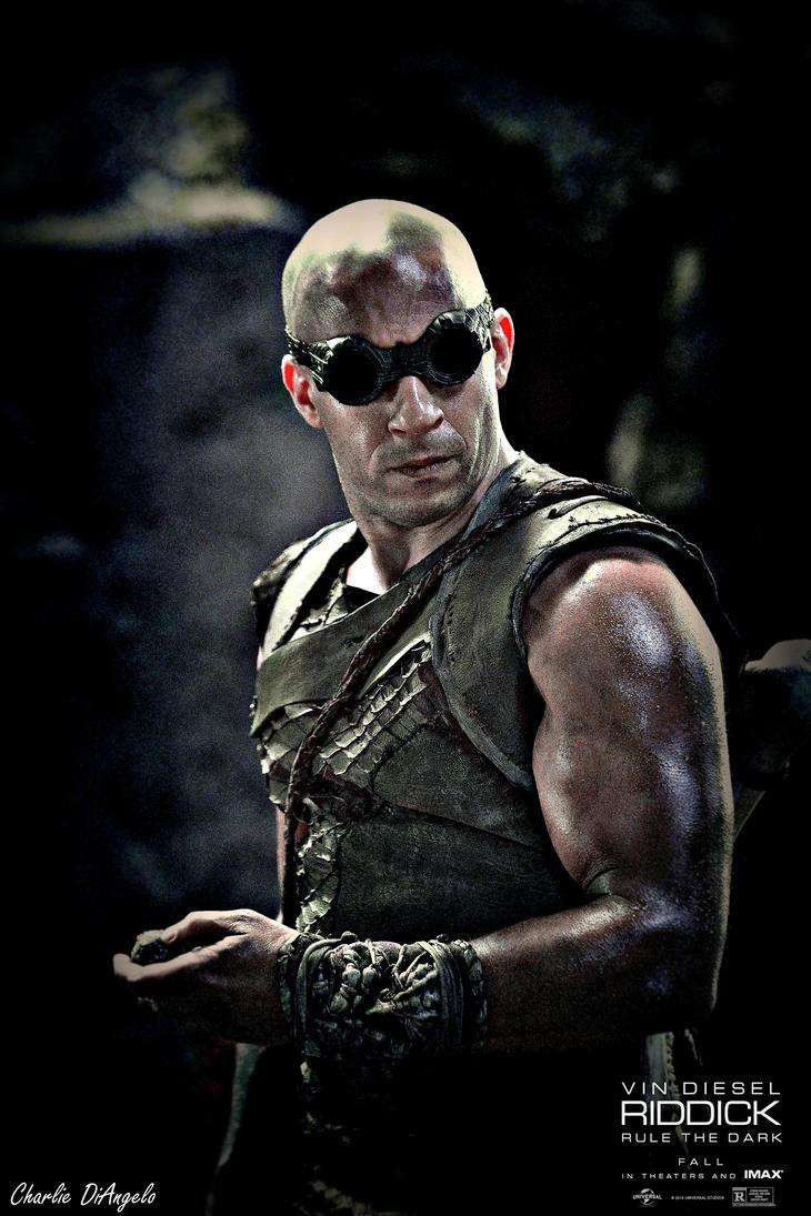 Riddick Poster by CharlesDiAngelo on deviantART