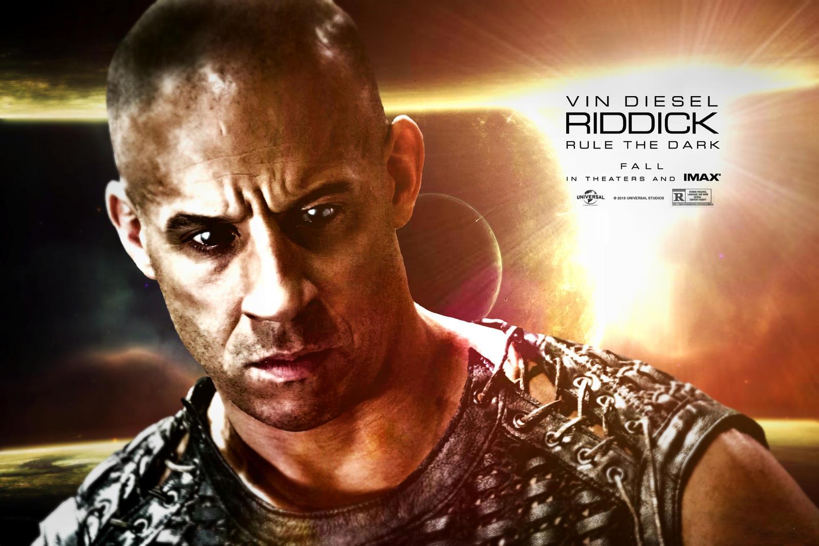 New Riddick Poster by CharlesDiAngelo on DeviantArt