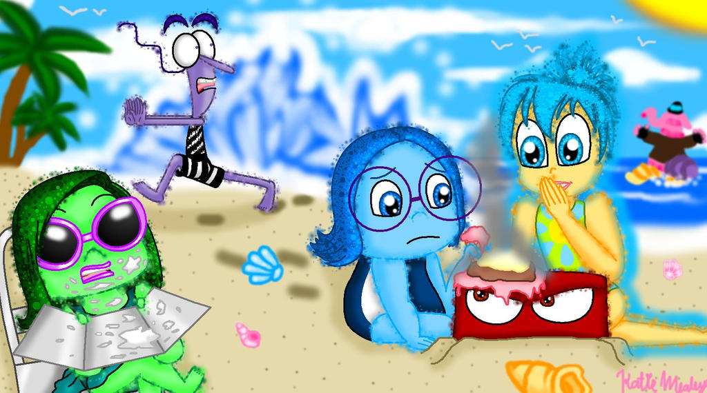 Inside Out Fanart Contest Art Emotions On Vacation By