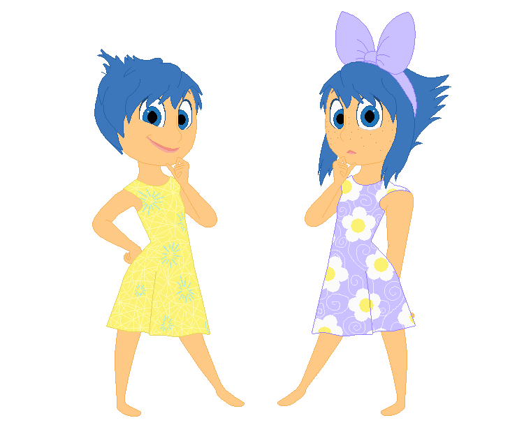Inside Out Twins Joy And Shy By KatieGirlsForever On