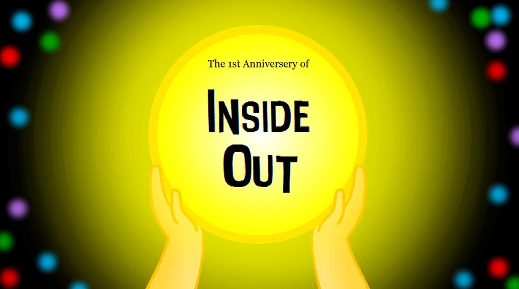 Inside out st anniversary drawing by katiegirlsforever on deviantart