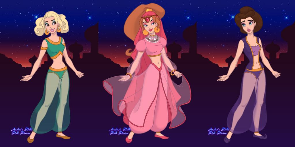 Arabian Princess Maker - The Chipettes By KatieGirlsForever On DeviantArt