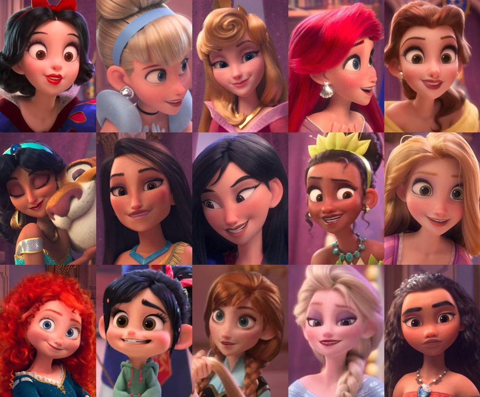 All Disney Princesses In The W-I-R 2 Trailer by ...