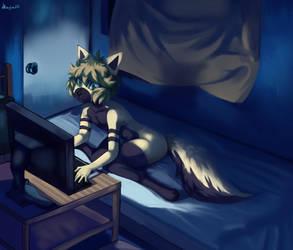 Playing videogames aaaAA