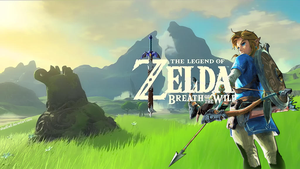 Breath Of The Wild Wallpaper Hd: The Legend Of Zelda: Breath Of The Wild Wallpaper By