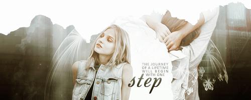 One step by SkyXBlue