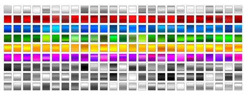 225 gradients for Photoshop by dude2k