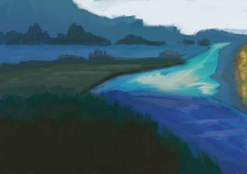 Landscape by TheatreAyoo