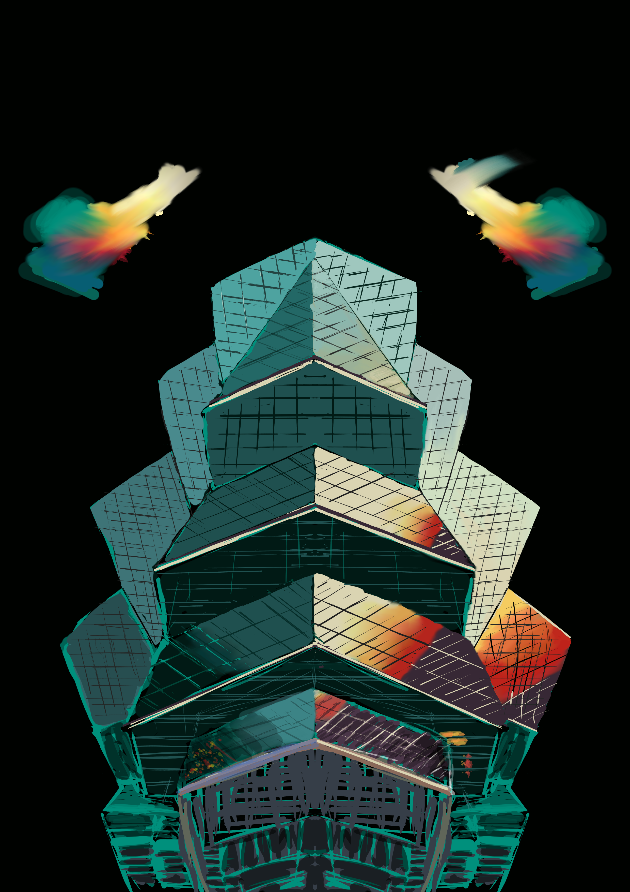 WIP - Skyscraper by TheatreAyoo