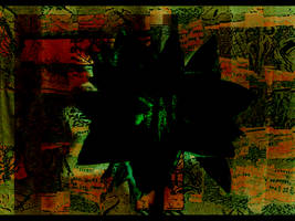 Collage 3 a.k.a. Green Flower by TheatreAyoo