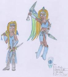 Michella, The Ice Dragoon by Shiron91