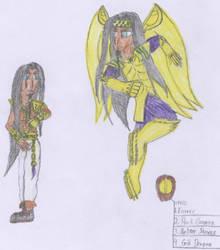 Joseph, The Earth Dragoon by Shiron91