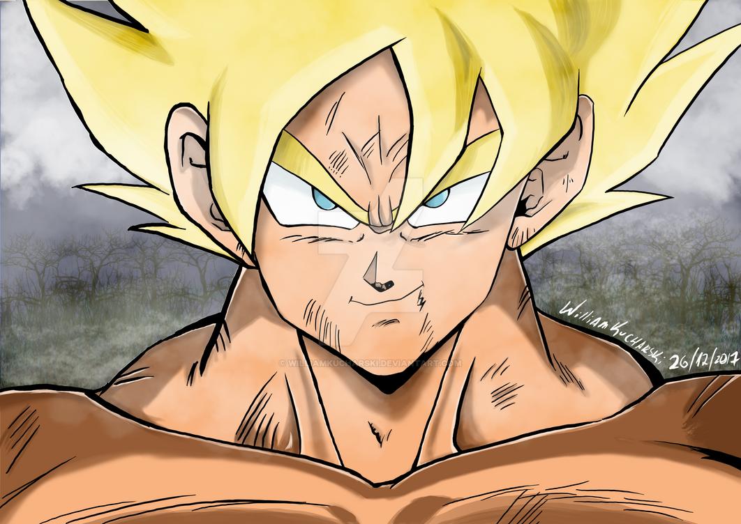 2017.12.26 - Goku SSJ2 by williamkucharski