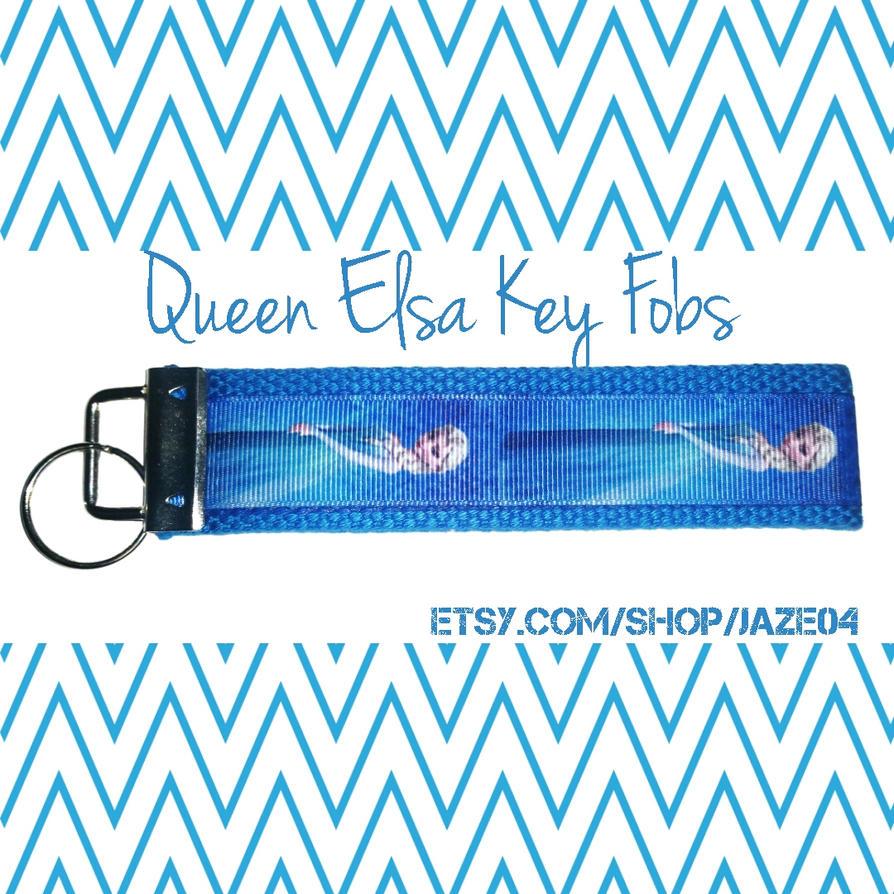 Queen Elsa Key Fobs by cha0tyk-harm0nye